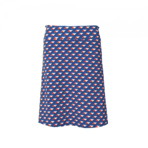 SKIRT LONG TRIANGLE JERSEY COTTON