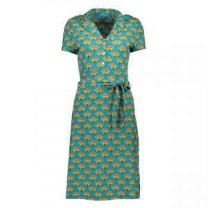 Polo dress turquoise