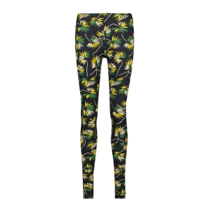 legging-flower yellow white green black